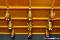 Golden Buddhist Lamps