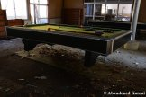 Abandoned Billiard Tabels
