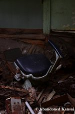 Abandoned Dentist Chair
