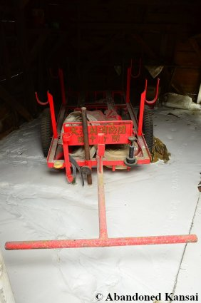 Abandoned Fire Department Cart