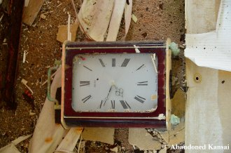 Abandoned Seiko Clock
