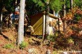 Small Abandoned Huts