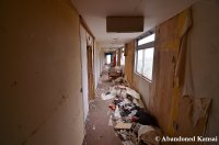 Trashed Hotel Hallway