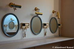 Abandoned Dressing Room