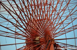 Abandoned Ferris Wheel (Detail)