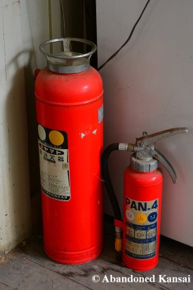 Abandoned Fire Distinguishers