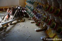 Abandoned Skiing Equipment