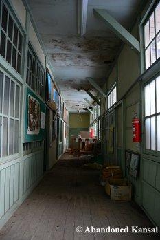 Cyan Hallway