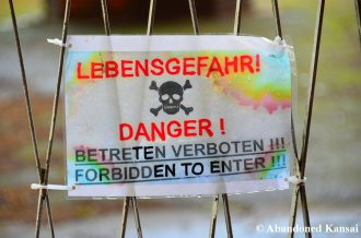 Danger! Forbidden To Enter!!!