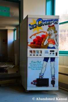 Ice Crepe Vending Machine