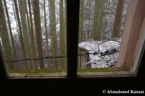 Looking Outside A Japanese School In The Mountains