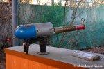 Abandoned Futuristic Gun At WesternVillage