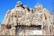 Fake Mount Rushmore in Japan