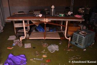 Medical Remains At An Abandoned Asylum