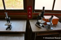 Abandoned Microscopes