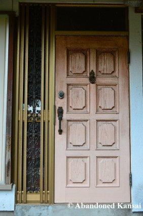 Abandoned Skin-Colored Door