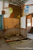 Collapsed Wooden Floor