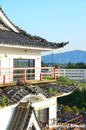 Hotel Damaged By The Tohoku Earthquake
