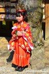 Little Girl Posing ForPhotographers