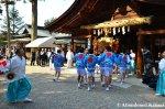 Mikoshi Entering The OagataShrine