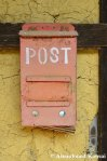 Red Japanese PostBox