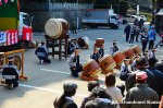 Taiko Drummers At A Traditional JapaneseFestival