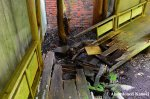Collapsed Wooden Walkway