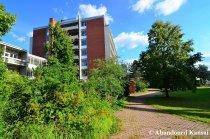 Deserted Hospital Building