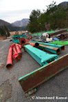 Dismantled Ski Lift