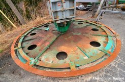 Rusty Green Ski Lift
