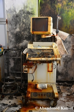 Abandoned Medical Ultrasound Scanner