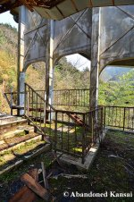 Abandoned Ropeway Station In Japan