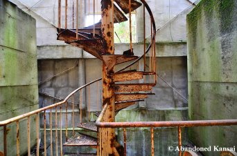 Extremely Rusty Staircase