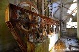 Rusty Ropeway Machinery
