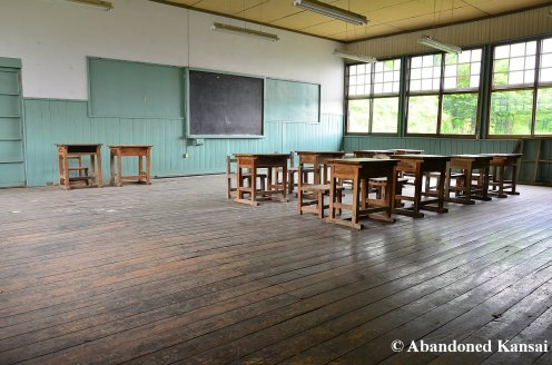 Wooden Classroom