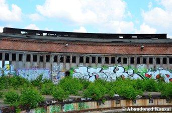 Abandoned Lokschuppen