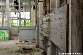 Abandoned Construction Machinery Factory