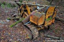 Abandoned Komatsu D205 Dozer