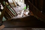 Collapsed Wooden Staircase