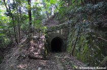 One Of Two Collapsed Tunnels