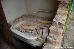 Sink Filled With Rubble