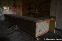 Counter In An Abandoned Hospital