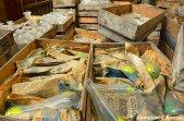Heaps Of Abandoned Glassware