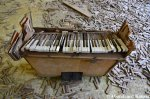 Damaged School Piano
