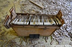 Damaged School Piano
