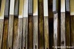 Damaged Wooden PianoKeys