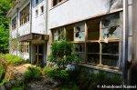 Entrance Of An AbandonedSchool