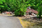 Flattened House Near TheSchool