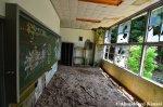 Vandalized Blackboard