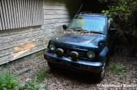 Abandoned Japanese Jeep
